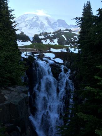 Myrtle Falls, Mount Rainier